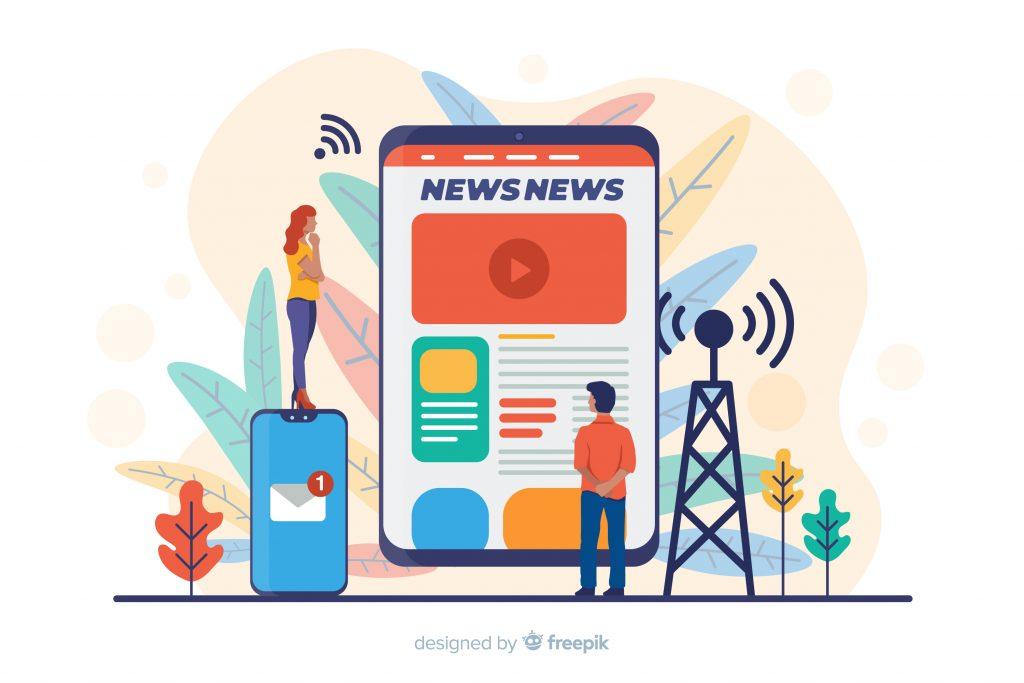 Audiência da imprensa tradicional e deu ao trabalho de assessoria de imprensa maior relevância